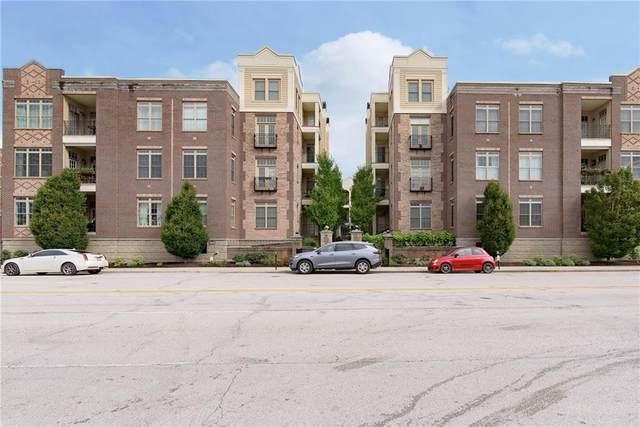 450 E Ohio Street #118, Indianapolis, IN 46204 (MLS #21814057) :: Ferris Property Group