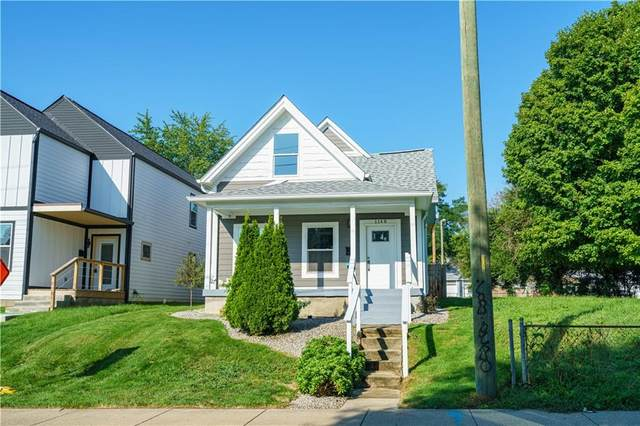 1148 S State Avenue, Indianapolis, IN 46203 (MLS #21814130) :: AR/haus Group Realty
