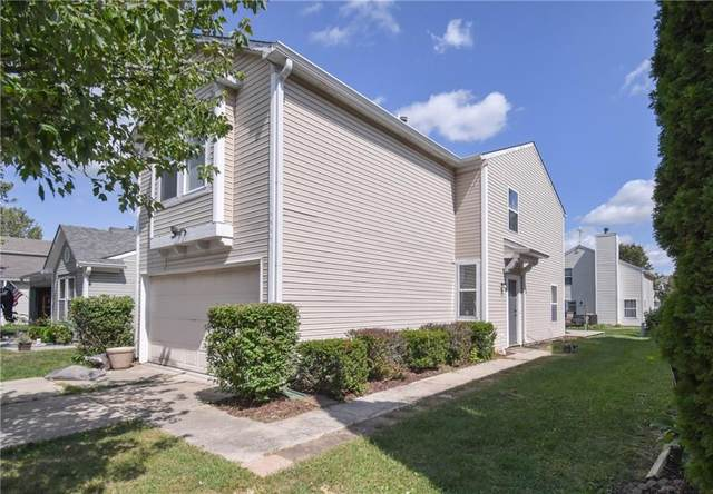 4481 Connaught W. Drive, Plainfield, IN 46168 (MLS #21814149) :: The Indy Property Source