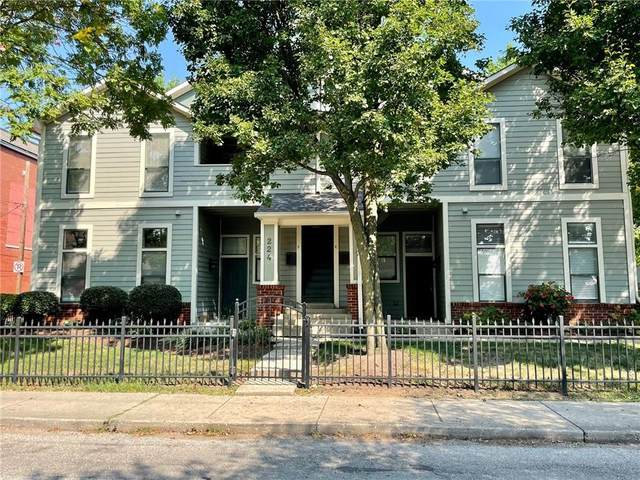 224 E 13th Street E, Indianapolis, IN 46202 (MLS #21814180) :: Ferris Property Group