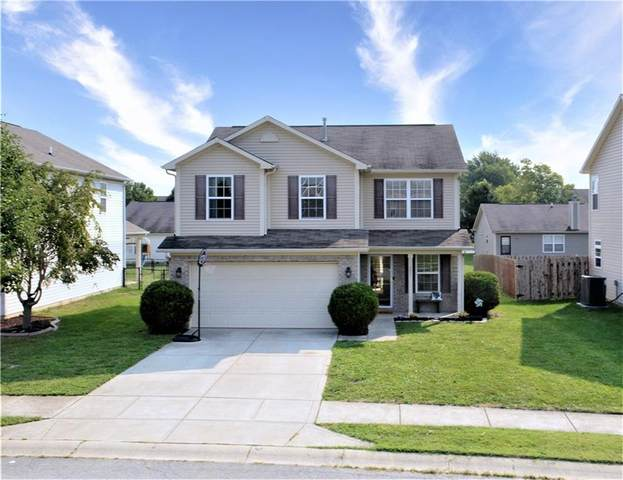 111 Thistle Wood Drive, Greenfield, IN 46140 (MLS #21814260) :: Pennington Realty Team