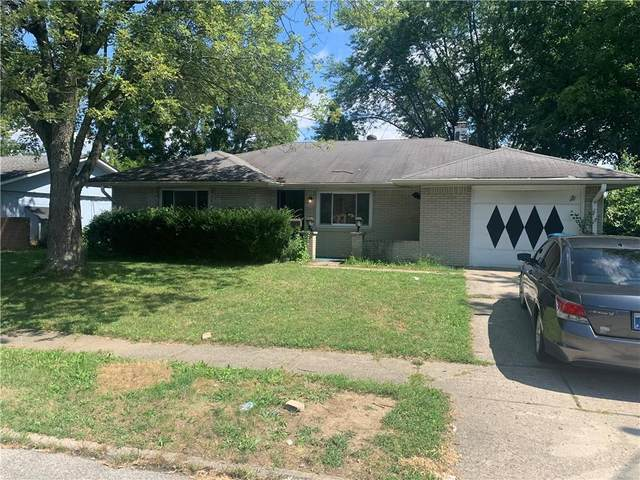 3721 N Ireland Drive, Indianapolis, IN 46235 (MLS #21814268) :: Ferris Property Group