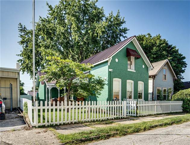 1025 E Harrison, Indianapolis, IN 46202 (MLS #21814308) :: Heard Real Estate Team | eXp Realty, LLC