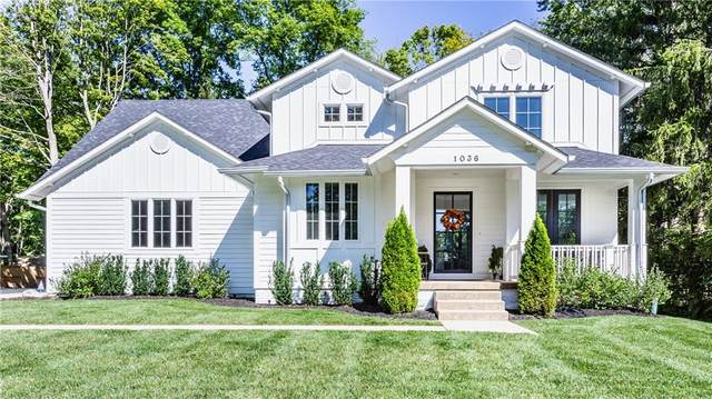 1036 W 75th Street, Indianapolis, IN 46260 (MLS #21814403) :: Richwine Elite Group