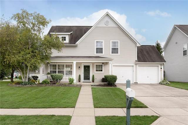 5027 Brookstone Way, Indianapolis, IN 46268 (MLS #21814505) :: Mike Price Realty Team - RE/MAX Centerstone