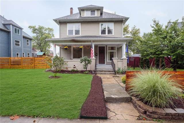 2142 Carrollton Ave, Indianapolis, IN 46202 (MLS #21814517) :: Richwine Elite Group