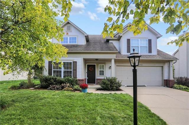 10546 Greenway Drive, Fishers, IN 46037 (MLS #21814537) :: Quorum Realty Group