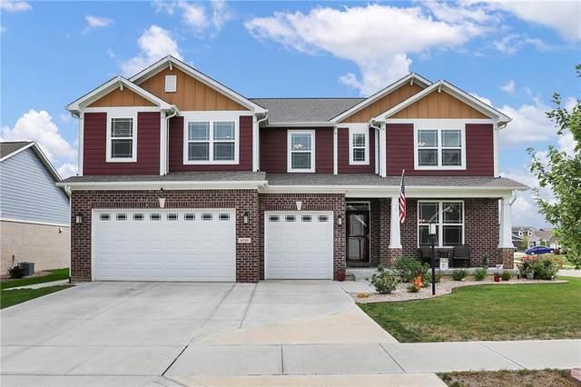 6281 Burgin Drive, Whitestown, IN 46075 (MLS #21814579) :: The ORR Home Selling Team