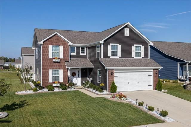 414 Mozart Drive, Greenfield, IN 46140 (MLS #21814608) :: Heard Real Estate Team | eXp Realty, LLC