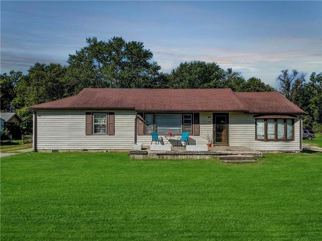 1448 S Morgantown Road, Greenwood, IN 46143 (MLS #21814619) :: Mike Price Realty Team - RE/MAX Centerstone