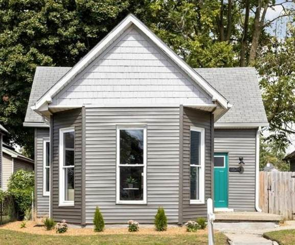 1624 Woodlawn Avenue, Indianapolis, IN 46203 (MLS #21814647) :: RE/MAX Legacy