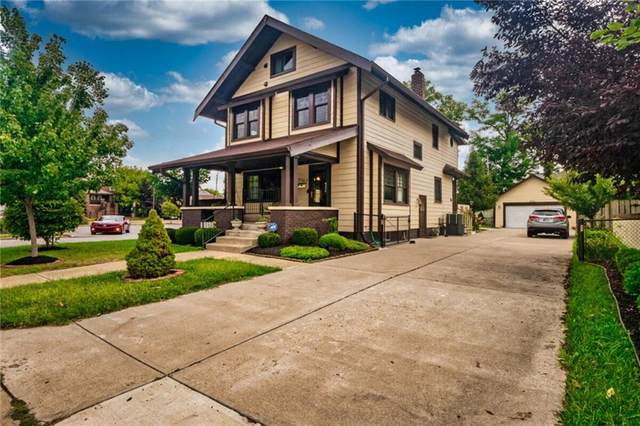 3767 Central, Indianapolis, IN 46205 (MLS #21814690) :: The Evelo Team