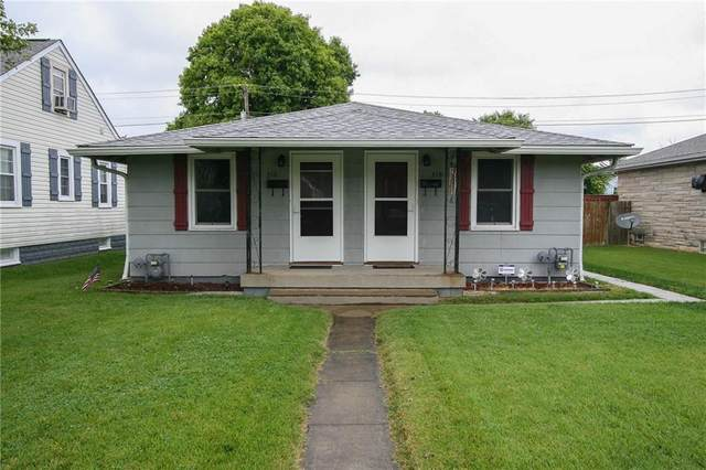 316 E 38th Street 316-318, Anderson, IN 46013 (MLS #21814699) :: The ORR Home Selling Team