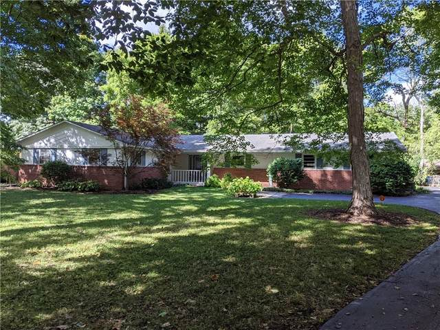 1216 Oakwood Trail, Indianapolis, IN 46260 (MLS #21814703) :: RE/MAX Legacy