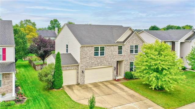 11113 Sanders Drive, Fishers, IN 46038 (MLS #21814773) :: Mike Price Realty Team - RE/MAX Centerstone