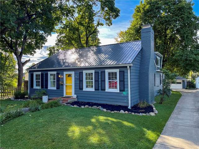 219 W Fifth Street, Greenfield, IN 46140 (MLS #21814876) :: Quorum Realty Group