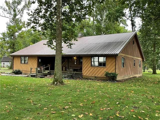 3789 E Orange Pike, Rushville, IN 46173 (MLS #21814886) :: The ORR Home Selling Team