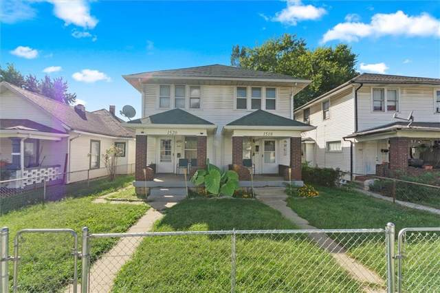 1518-1520 S Belmont Avenue, Indianapolis, IN 46221 (MLS #21814965) :: The ORR Home Selling Team