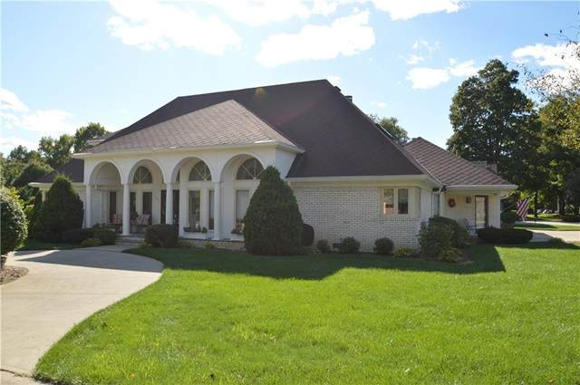 6520 Forrest Commons Boulevard, Indianapolis, IN 46227 (MLS #21815207) :: JM Realty Associates, Inc.