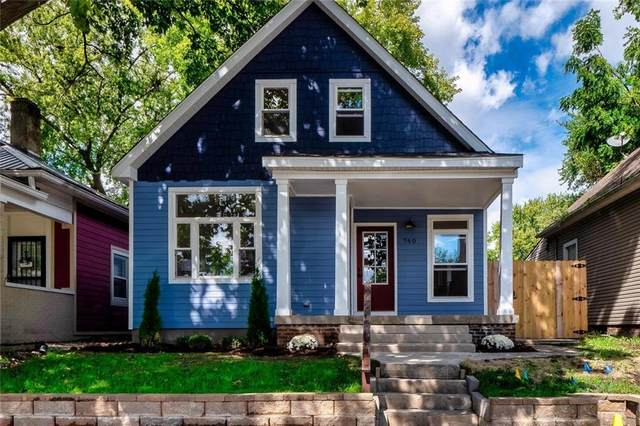 740 Parkway Avenue, Indianapolis, IN 46203 (MLS #21815254) :: The Evelo Team