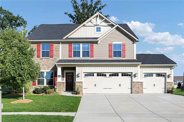 1322 Cloverdale Trace, Greenwood, IN 46143 (MLS #21815293) :: Heard Real Estate Team | eXp Realty, LLC