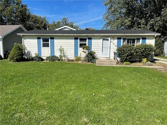 906 Jefferson Street, Frankton, IN 46044 (MLS #21815366) :: Dean Wagner Realtors
