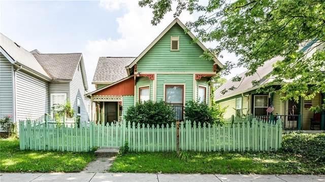849 Camp Street, Indianapolis, IN 46202 (MLS #21815391) :: Pennington Realty Team