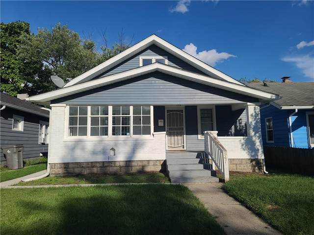 947 N Ewing Street, Indianapolis, IN 46201 (MLS #21815484) :: The Evelo Team