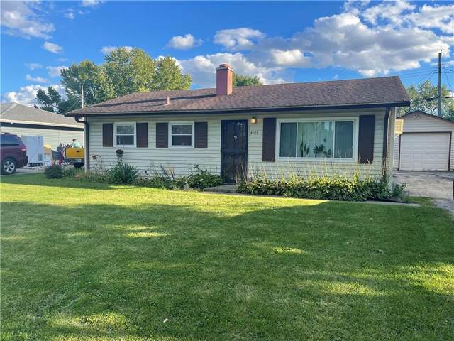 4101 Bertrand Road, Indianapolis, IN 46222 (MLS #21815504) :: The ORR Home Selling Team