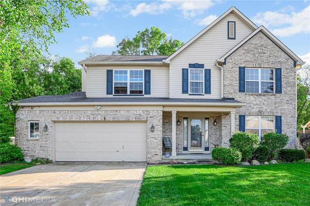1419 Keensburg Court, Indianapolis, IN 46228 (MLS #21815518) :: Ferris Property Group