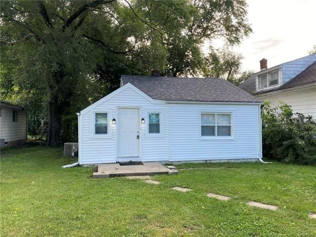 1021 N Berwick Avenue, Indianapolis, IN 46222 (MLS #21815560) :: The ORR Home Selling Team