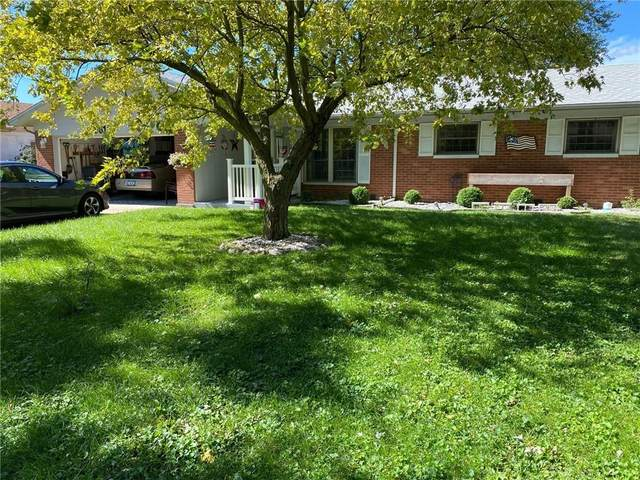 3619 Church Drive, Anderson, IN 46013 (MLS #21815672) :: The ORR Home Selling Team