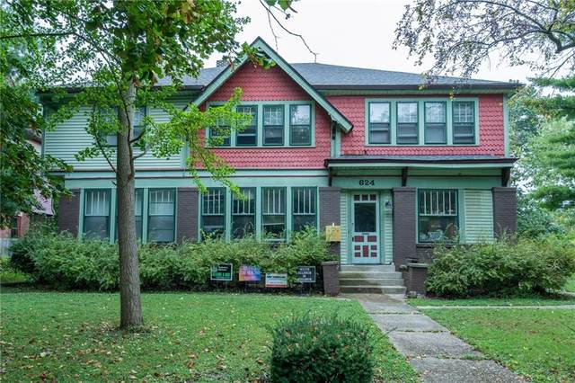 624 Woodruff Place Middle Drive, Indianapolis, IN 46201 (MLS #21815677) :: Mike Price Realty Team - RE/MAX Centerstone