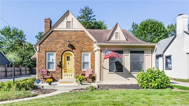 5916 Winthrop Avenue, Indianapolis, IN 46220 (MLS #21815682) :: Ferris Property Group