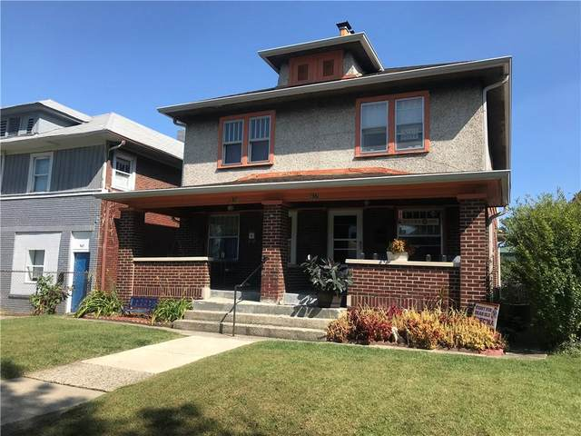 937 N Bancroft Street, Indianapolis, IN 46201 (MLS #21815908) :: AR/haus Group Realty