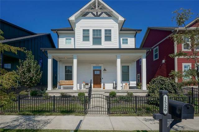 1526 Evenstar Boulevard, Carmel, IN 46280 (MLS #21815935) :: Ferris Property Group