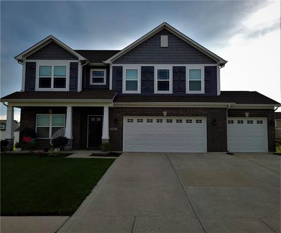 3296 S Ansley Drive, New Palestine, IN 46163 (MLS #21816031) :: Mike Price Realty Team - RE/MAX Centerstone