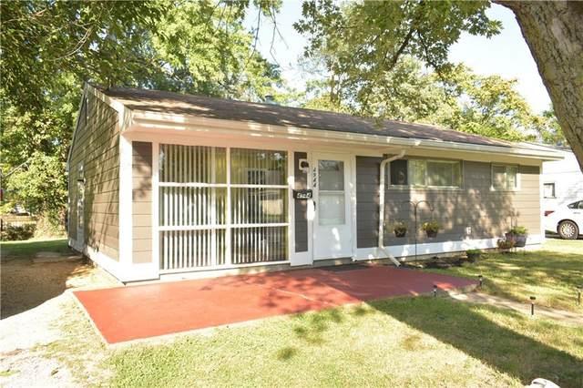 4944 N Katherine Drive, Indianapolis, IN 46226 (MLS #21816091) :: Heard Real Estate Team | eXp Realty, LLC
