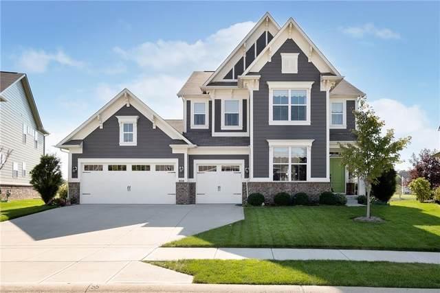 14051 Knightstown Drive W, Carmel, IN 46033 (MLS #21816160) :: Ferris Property Group