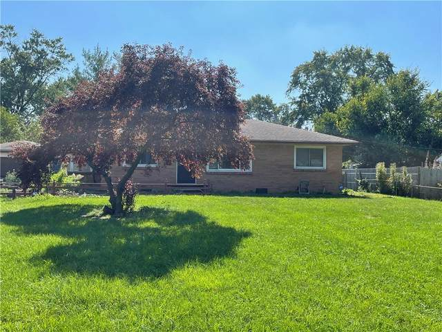 6855 Meadowview Drive, Indianapolis, IN 46226 (MLS #21816187) :: Heard Real Estate Team | eXp Realty, LLC