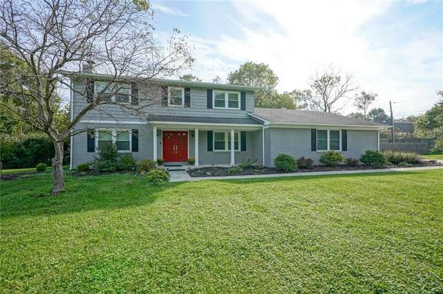 7447 Glenview Drive E, Indianapolis, IN 46250 (MLS #21816195) :: Richwine Elite Group