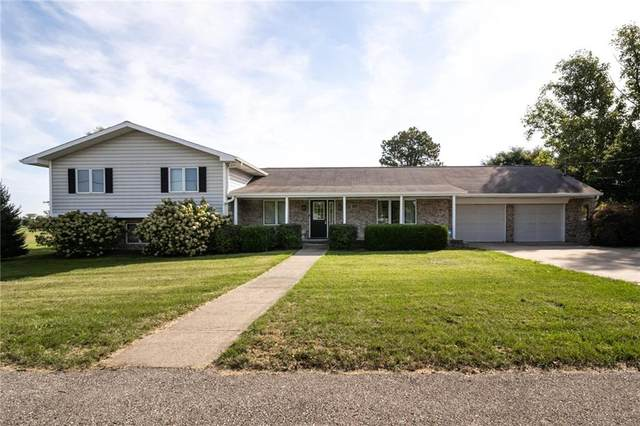 12390 Brooks School Road, Fishers, IN 46037 (MLS #21816222) :: The Evelo Team