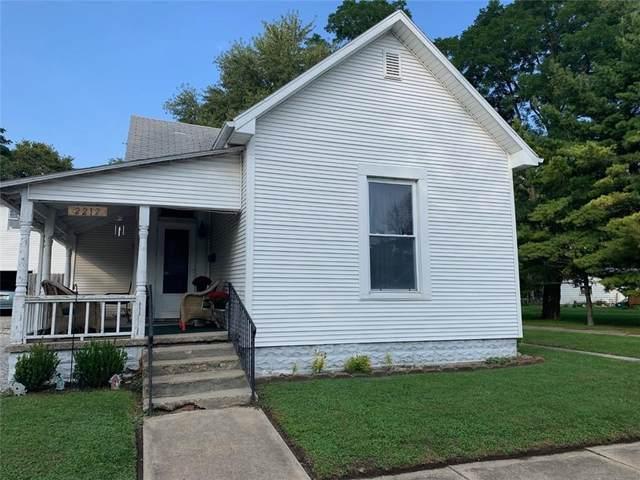 2212 Walnut Street, New Castle, IN 47362 (MLS #21816255) :: Heard Real Estate Team | eXp Realty, LLC