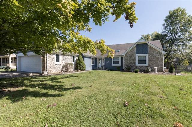 9911 Harbour Pines Court, Indianapolis, IN 46256 (MLS #21816263) :: Dean Wagner Realtors