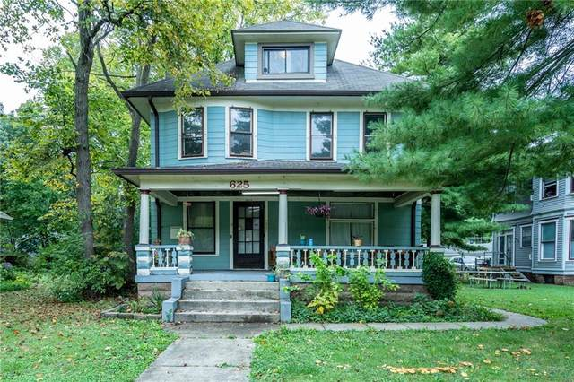 625 Woodruff Place Middle Drive, Indianapolis, IN 46201 (MLS #21816265) :: Mike Price Realty Team - RE/MAX Centerstone