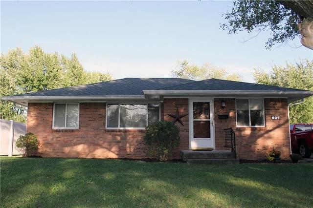 627 Killian Drive, Beech Grove, IN 46107 (MLS #21816428) :: Ferris Property Group