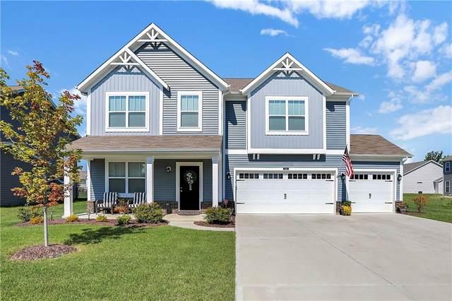 6124 Bradwood Drive, Indianapolis, IN 46237 (MLS #21816451) :: Ferris Property Group