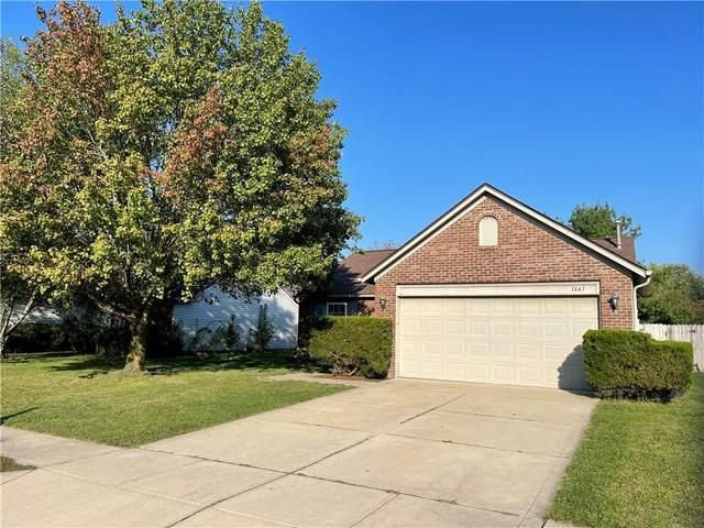 1441 Cypress Drive, Greenfield, IN 46140 (MLS #21816546) :: Dean Wagner Realtors