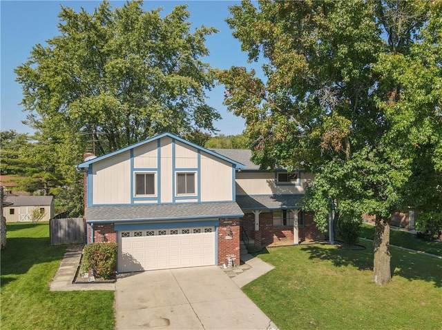 5542 Whirlaway Lane, Indianapolis, IN 46237 (MLS #21816575) :: Mike Price Realty Team - RE/MAX Centerstone