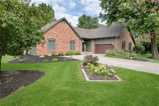 10760 Courageous Drive, Indianapolis, IN 46236 (MLS #21816613) :: Pennington Realty Team